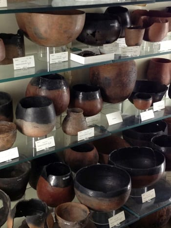 Pre-dynastic pots (and labels!).