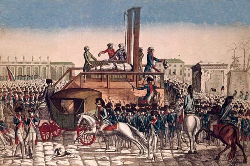 The execution of Louis XVI, Musee Carnavalet Paris, http://www.carnavalet.paris.fr/