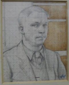 Jesse Dale Cast Self Portrait, 1935 © The Artist's Estate, Jesse Dale Cast, UCL Art Museum