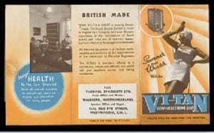 "London Leaflet for the ""Vi-Tan"" ultra-violet home unit from the Thermal Syndicate Ltd 1936 © Wellcome Library"