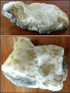 Minerals with acicular habit