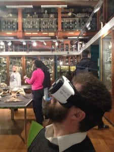 VR:Cell being tested in the Grant Museum