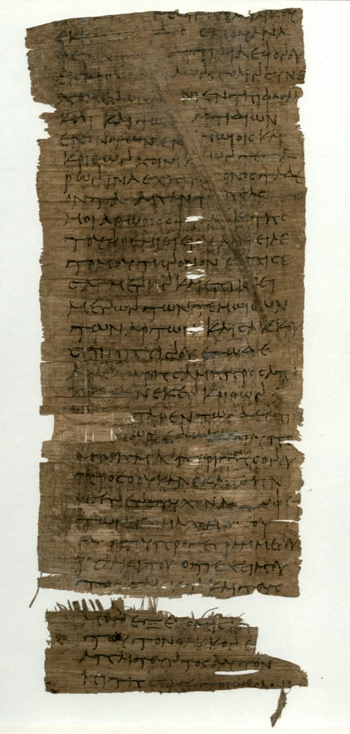 Greek papyrus UC31907