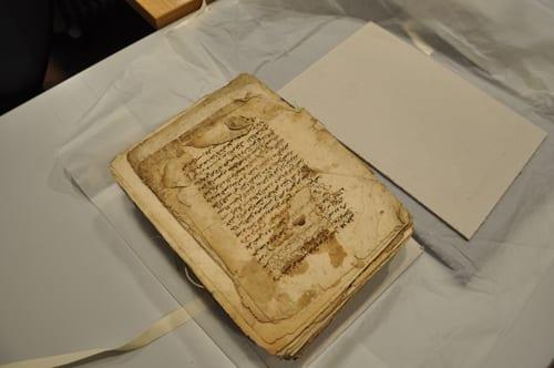 Handwritten Arabic manuscript