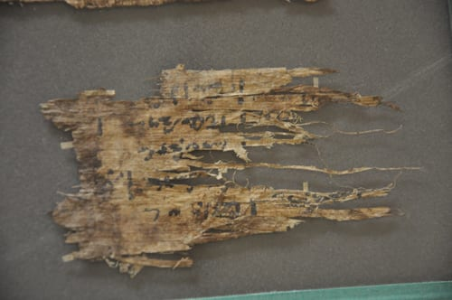 UC55847 Papyrus after conservation work