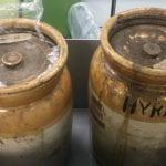Mystery ceramic pots