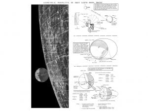 Chart explaining the first Earth-Moon photograph.