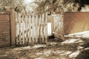 Open Gate by Abbott 1891