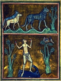 Bestiary image of wolf