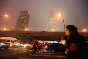 Credit: Photo of smog in Beijing in January 2013 by 大杨 and used under CC2.0