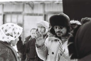 Balabanov on the set of 'Morphine'. Via Wikimedia Commons