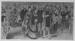 Tsar Alexander II at the Crystal Palace, 1874. Author's copy