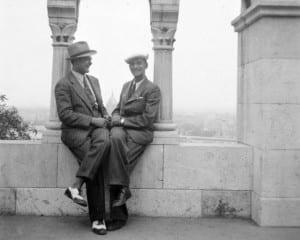 Two dandies, Budapest, c. 1935