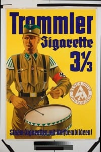 Marketing the Storm troopers' cigarettes (Image reproduced by kind permission of the Münchner Stadtmuseum, P C 13/70)