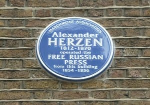 The Free Russian Press in Bloomsbury. Photograph by Sarah J. Young (CC BY-NC-SA 2.0)