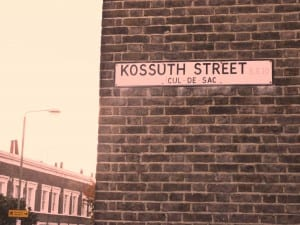 Eszter Tarsoly: Kossuth Street: a Cul-de Sac