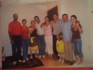 Serbian-Albanian family