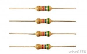 Orderly resistors