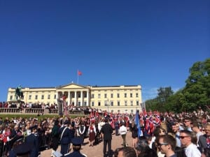 EMG Royal Palace on constitutions day
