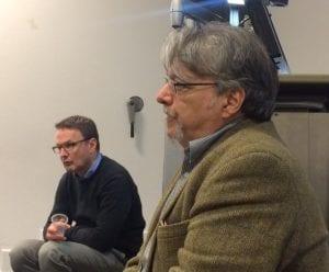 Dr Stephen Colvin and Dr Abondolo