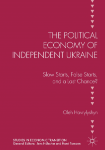 Political Economy of Independent Ukraine