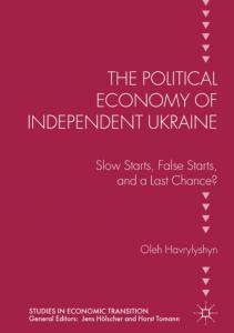 Political Economy of Independent Ukraine