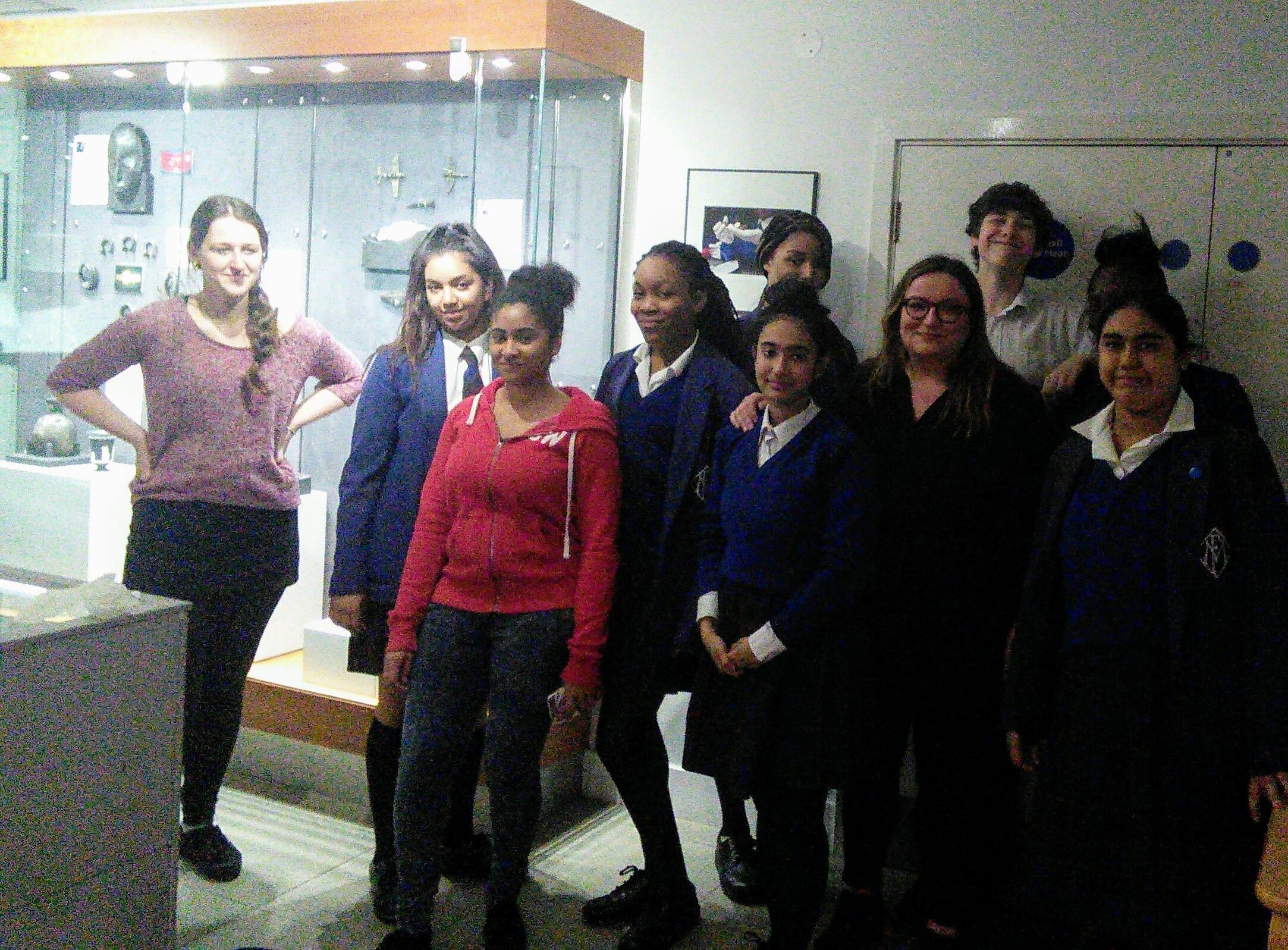 Young Curators Club Maria Fidelis exhibition