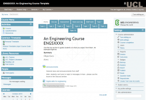 Engineering Faculty template
