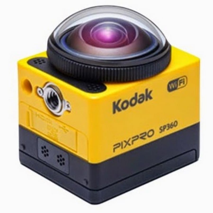 Kodak SP360 camera records in 360 degrees, playback can then be 'discoverable'