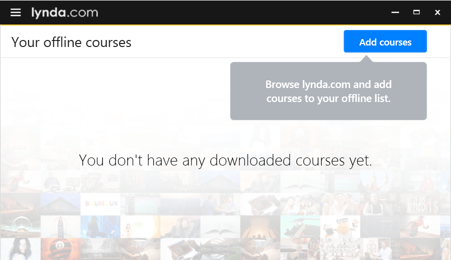 Lynda com is now available offline on your computer | UCL Digital