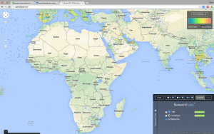 Map of 4G coverage of Africa - speeds can reach approx. 10Mbps - much faster, but no one's has it!