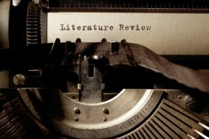 vintage typewriter literature review