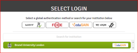 WISEflow-Select Login