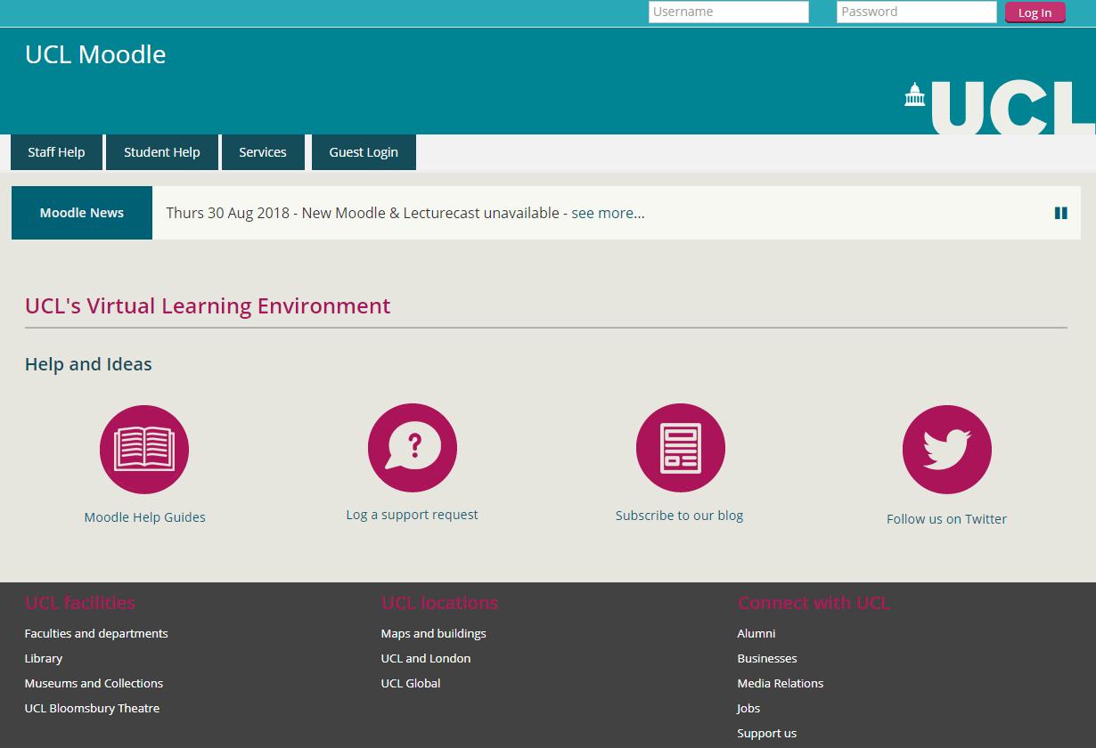 Moodle | UCL Digital Education team blog