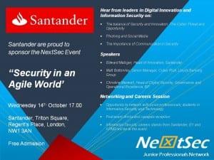 Santander NextSec Event