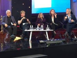Professor Chris Rapley and other speakers at Congreso del Futuro in Chile