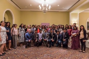 Group photo at Mumbai Alumni Reception