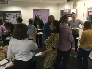 Guests network at the inaugural Knowledge Africa event