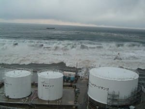 Tsunami that hit the Fukushima Daiichi Nuclear Power Station in 2011
