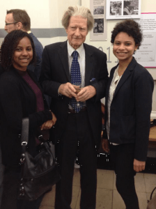 Brazilian students met Professor Sir John Gurdon when he gave the UCL Clinical Science Prize lecture