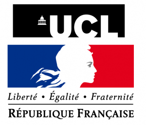 UCL and French Embassy logos