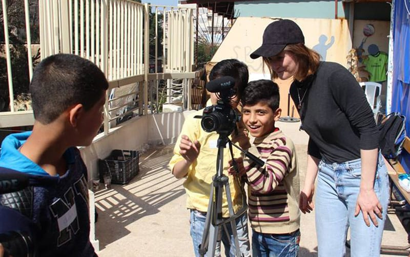 Three UCL alumni have set up the Refugee Film Project to support Syrian refugee children