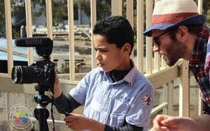 The Refugee Film Project helps Syrian child refugees tell their stories through film