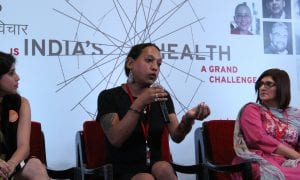 Rudrani on Difficult Dialogues 2017 panel