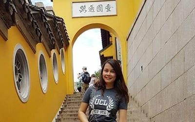 Alexandra Willems in Shanghai