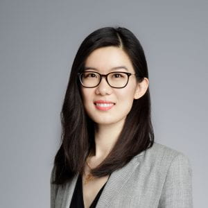 Xiaojing Wang, graduate from the UCL-PKU MBA