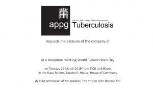 Invitation to parliamentary reception