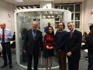 Opening of the new learning spaces in the UCL Eastman Institute Dental Library