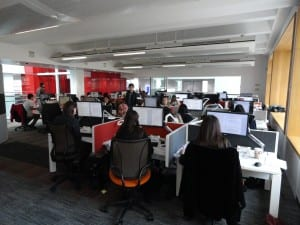 Computer workroom