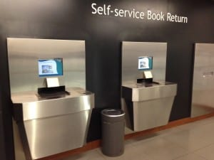 University of Leicester Self-service Book Return